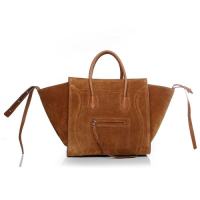 2013 Celine luggage phantom square bag 3341 camel color