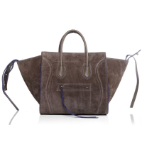 2013 Celine luggage phantom square bag 3341 khaki