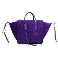 2013 Celine luggage phantom square bag 3341 purple
