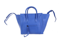 2013 Celine Luggage tote crocodile leather 88033 blue