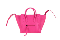2013 Celine Luggage tote crocodile leather 88033 rose red