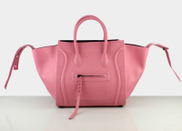 2013 Celine Luggage tote 88033 cherry pink