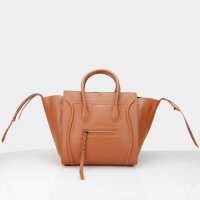 2014 celine phantom bag in original leather 88033 brown