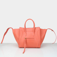 2014 celine phantom bag in original leather 88033 orange