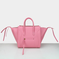2014 celine phantom bag in original leather 88033 rose red