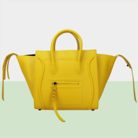 2014 celine phantom bag in original leather 88033 yellow