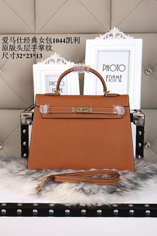Hermes epsom leather kelly Tote Bag 1044 Camel