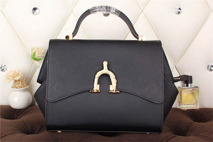 Hermes kelly 35CM stirrup top handle bag 30560 black