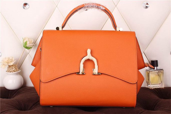 Hermes kelly 35CM stirrup top handle bag 30560 orange