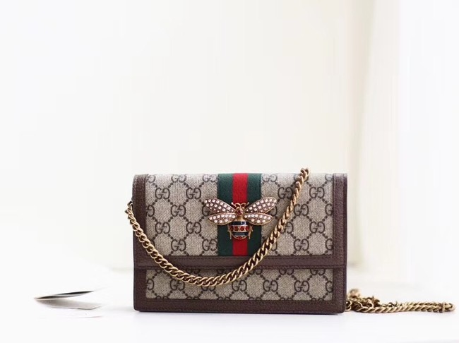 Gucci Queen Margaret GG mini bag 476079 brown